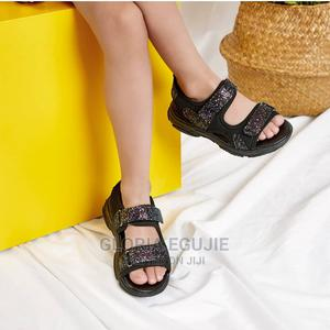 Toddler/Kid Sequin Velcro Closure Sandals | Children's Shoes for sale in Abuja (FCT) State, Dutse-Alhaji