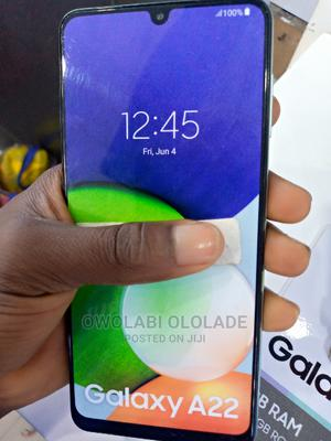New Samsung Galaxy A22 128 GB Black | Mobile Phones for sale in Lagos State, Ikeja