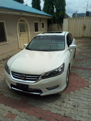 Honda Accord 2014 White | Cars for sale in Abuja (FCT) State, Kubwa