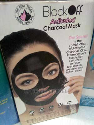 Black Off Activated Charcoal Mask | Bath & Body for sale in Abuja (FCT) State, Galadimawa