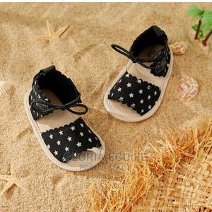 Baby/Toddler Girl Star Polka Dot Sandals   Children's Shoes for sale in Abuja (FCT) State, Dutse-Alhaji