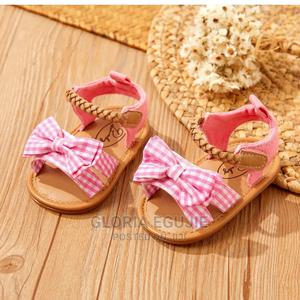 Baby/Toddler Girl Bowknot Velcro Closure Sandals   Children's Shoes for sale in Abuja (FCT) State, Dutse-Alhaji