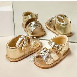 Baby/Toddler Solid Velcro Closure Sandals   Children's Shoes for sale in Abuja (FCT) State, Dutse-Alhaji