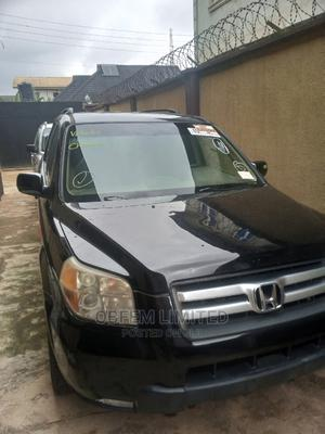 Honda Pilot 2008 SE 4x4 (3.5L 6cyl 5A) Black | Cars for sale in Lagos State, Abule Egba