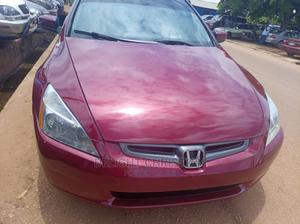 Honda Accord 2005 Automatic Red | Cars for sale in Kaduna State, Kaduna / Kaduna State
