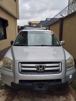 Honda Pilot 2006 EX-L 4x4 (3.5L 6cyl 5A) Silver | Cars for sale in Lagos State, Abule Egba