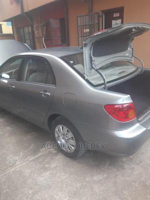 Toyota Corolla 2004 Sedan Gray | Cars for sale in Lagos State, Egbe Idimu