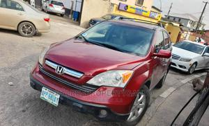 Honda CR-V 2007 EX 4WD Automatic Red   Cars for sale in Lagos State, Ogba