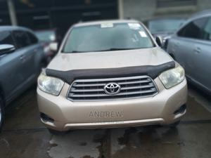 Toyota Highlander 2008 Gold   Cars for sale in Lagos State, Apapa