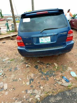 Toyota Highlander 2004 Blue | Cars for sale in Oyo State, Akinyele