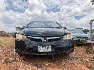 Honda Civic 2007 1.8i-Vtec EXi Black   Cars for sale in Abuja (FCT) State, Lugbe District
