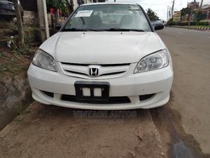 Honda Civic 2005 White | Cars for sale in Lagos State, Ikeja