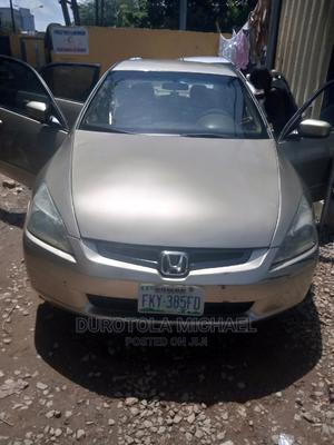 Honda Accord 2005 Sedan EX Automatic Gold | Cars for sale in Abuja (FCT) State, Garki 2