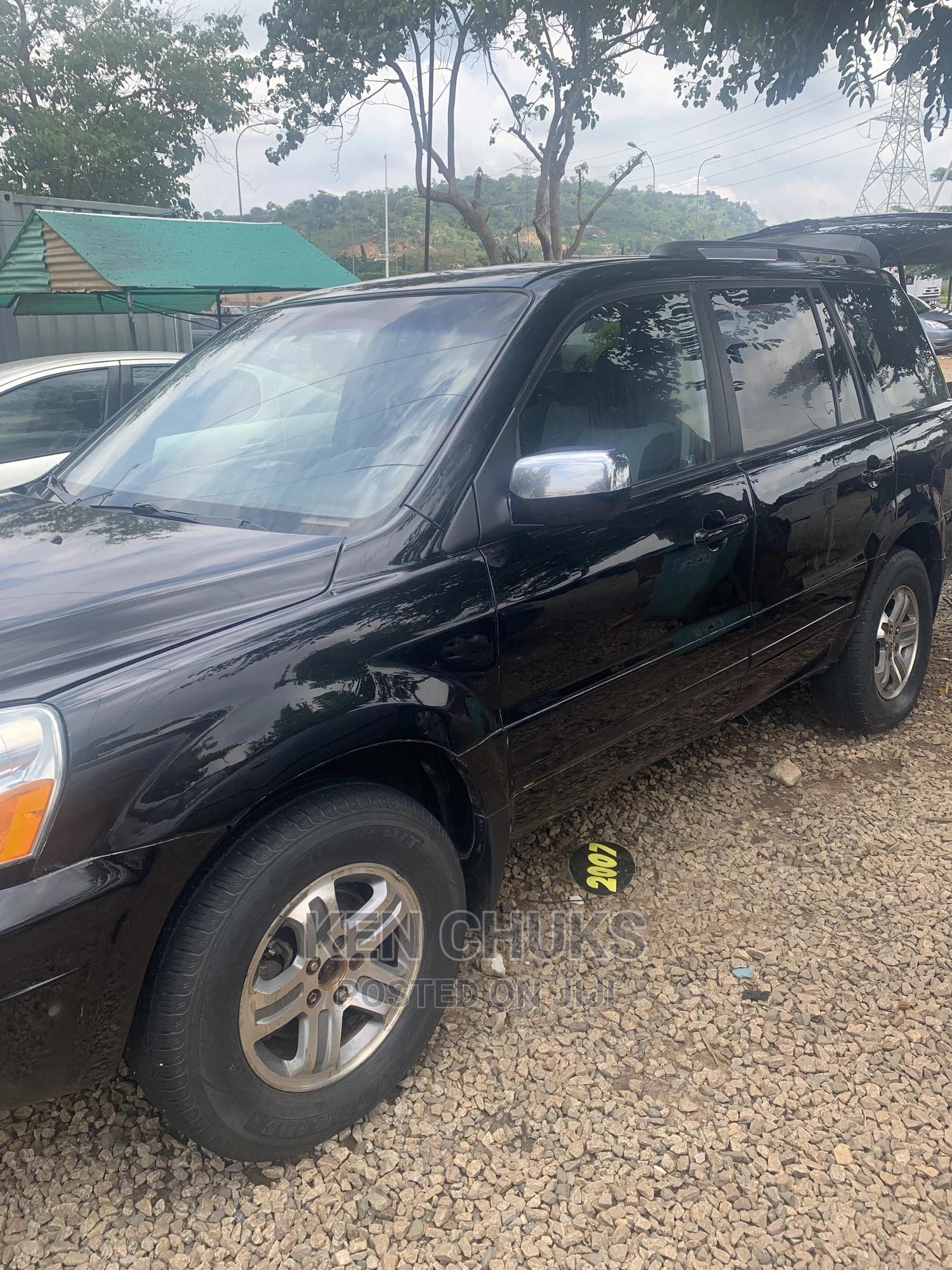 Honda Pilot 2004 EX 4x4 (3.5L 6cyl 5A) Black | Cars for sale in Gwarinpa, Abuja (FCT) State, Nigeria