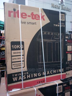 Rite Tek Washing Machine 10 Kg   Home Appliances for sale in Lagos State, Mushin