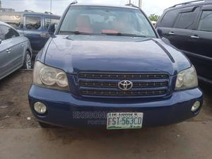 Toyota Highlander 2003 Limited V6 FWD Blue   Cars for sale in Lagos State, Amuwo-Odofin
