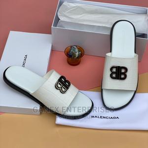 Balenciaga Leather Men's Slippers   Shoes for sale in Lagos State, Lagos Island (Eko)