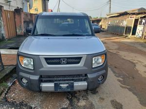 Honda Element 2004 DX Automatic Silver | Cars for sale in Lagos State, Isolo
