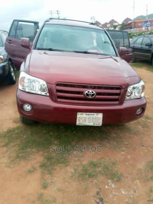 Toyota Highlander 2005 Red | Cars for sale in Abuja (FCT) State, Gudu
