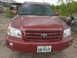 Toyota Highlander 2004 Red   Cars for sale in Abuja (FCT) State, Gudu