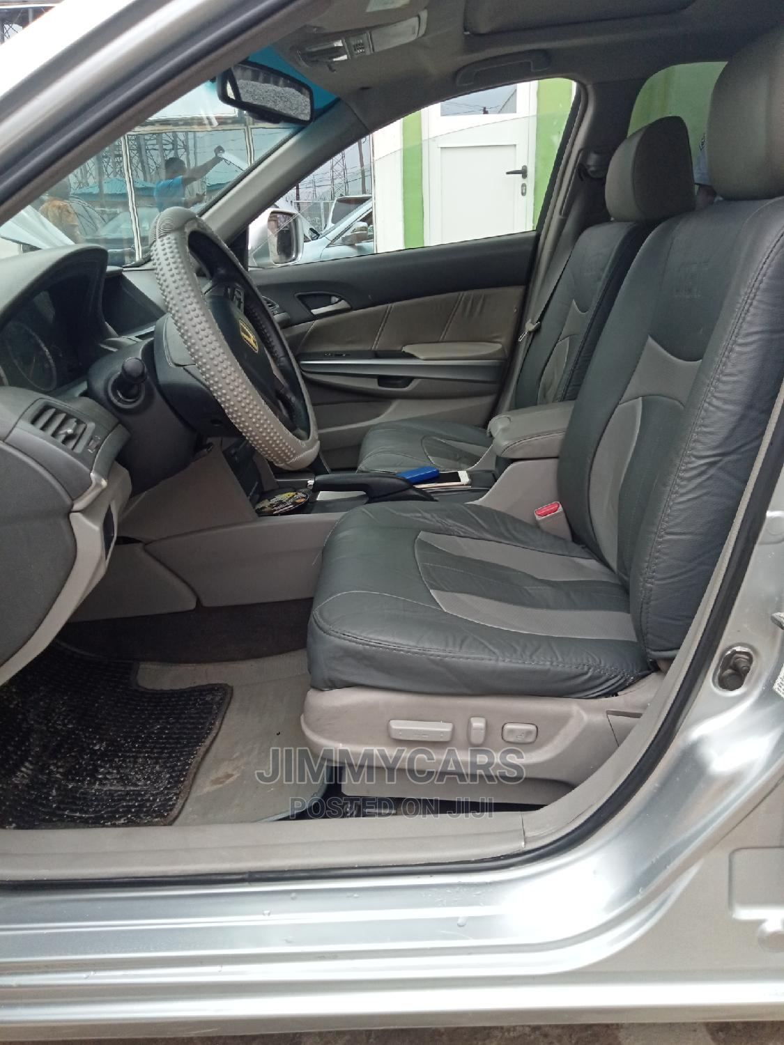 Honda Accord 2008 2.4 EX-L Automatic Silver | Cars for sale in Ikeja, Lagos State, Nigeria