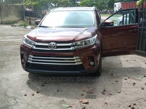 Toyota Highlander 2016 Red   Cars for sale in Lagos State, Amuwo-Odofin