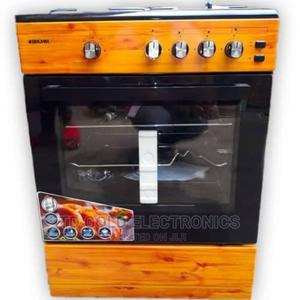 Bruhm Standing 4 Gas Cooker Oven Grill + Auto Ignition   Kitchen Appliances for sale in Abuja (FCT) State, Gwarinpa