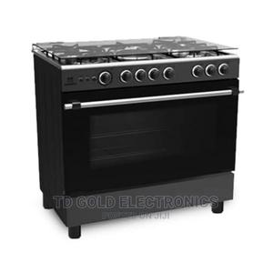 Midea 90x60 5 Burners Standing Gas Cooker Oven Grill Auto | Kitchen Appliances for sale in Abuja (FCT) State, Gwarinpa