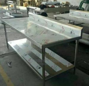 6ft Stainless Work Table   Restaurant & Catering Equipment for sale in Lagos State, Ikoyi