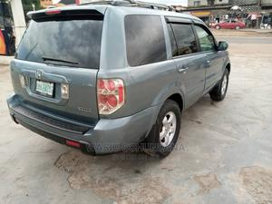 Honda Pilot 2007 EX-L 4x4 (3.5L 6cyl 5A) Blue | Cars for sale in Lagos State, Isolo