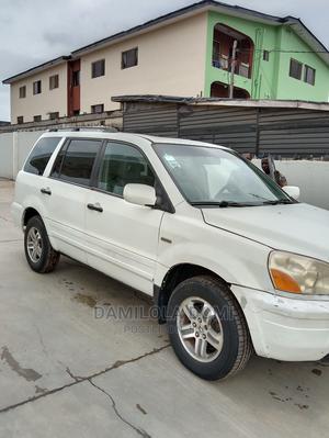 Honda Pilot 2004 EX 4x4 (3.5L 6cyl 5A) White | Cars for sale in Ogun State, Ifo