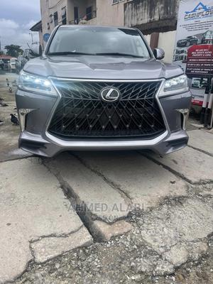 Lexus LX 2013 570 AWD Gray | Cars for sale in Lagos State, Surulere