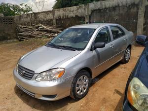 Toyota Corolla 2003 Sedan Automatic Silver | Cars for sale in Lagos State, Ejigbo