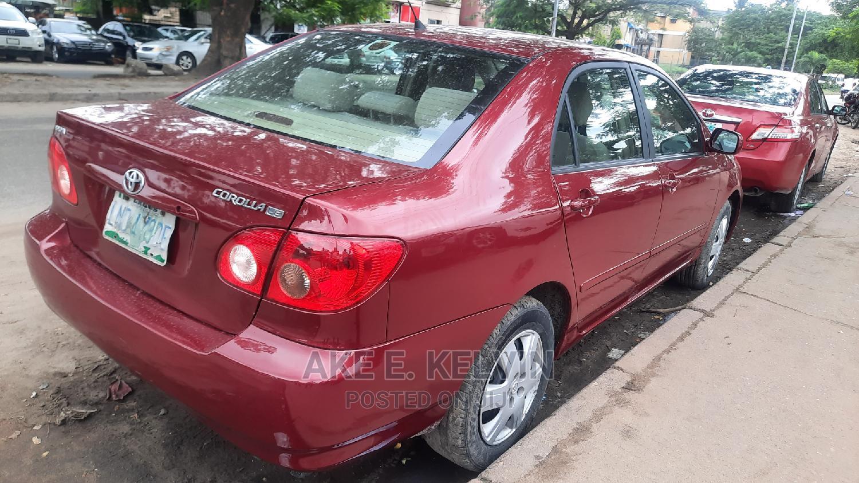 Toyota Corolla 2005 LE Red | Cars for sale in Amuwo-Odofin, Lagos State, Nigeria
