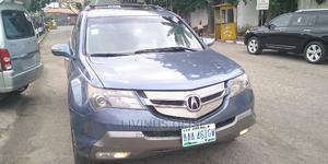 Acura MDX 2008 SUV 4dr AWD (3.7 6cyl 5A) Blue   Cars for sale in Lagos State, Ogba