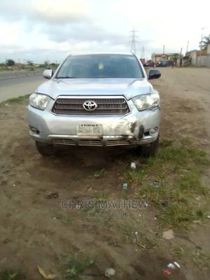 Toyota Highlander 2008 Limited 4x4 Silver   Cars for sale in Lagos State, Amuwo-Odofin