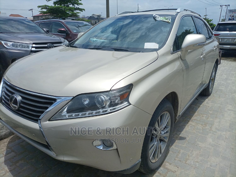 Lexus RX 2013 Gold | Cars for sale in Lekki, Lagos State, Nigeria