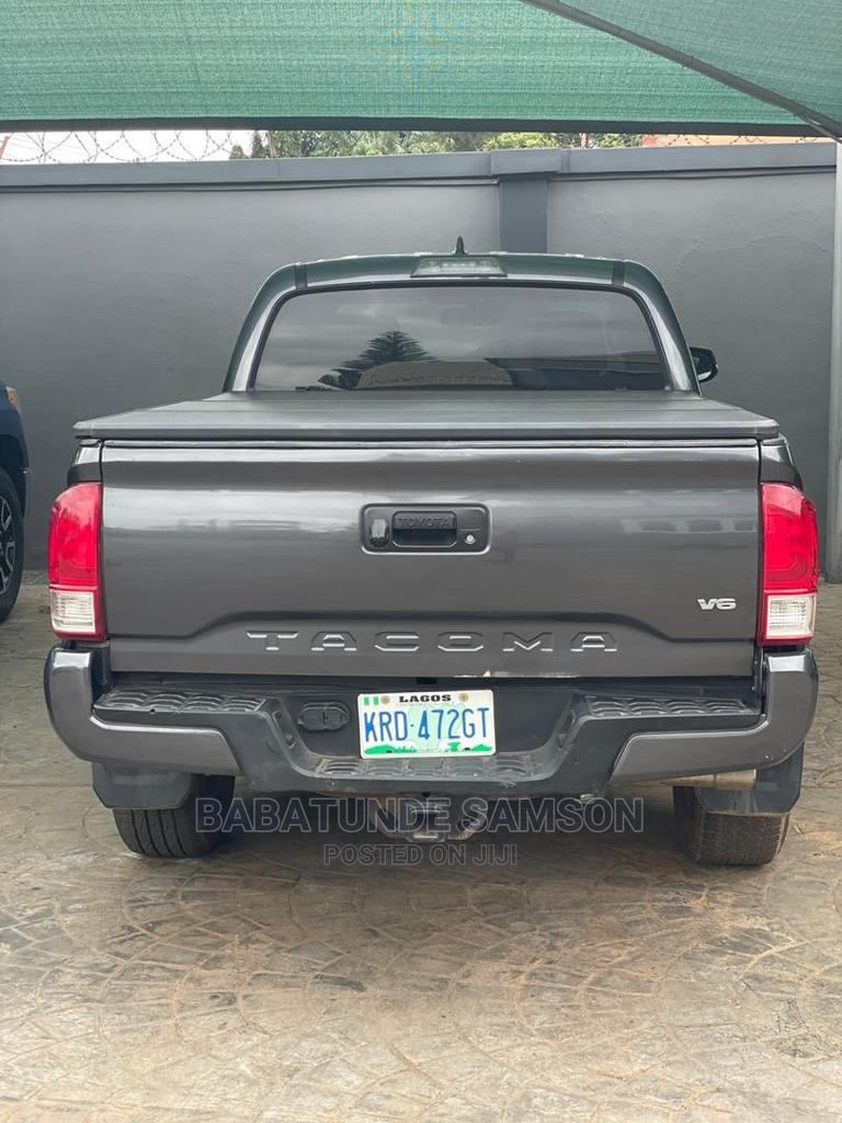 Toyota Tacoma 2019 Gray   Cars for sale in Ikeja, Lagos State, Nigeria