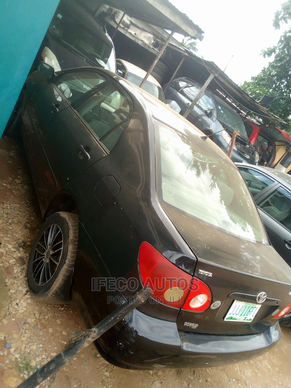 Toyota Corolla 2005 LE Black | Cars for sale in Ikeja, Lagos State, Nigeria