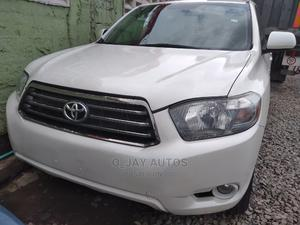 Toyota Highlander 2010 Sport White   Cars for sale in Lagos State, Agege