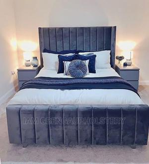 41⁄2 by 6 Full Upholstery Bedframe | Furniture for sale in Oyo State, Ibadan