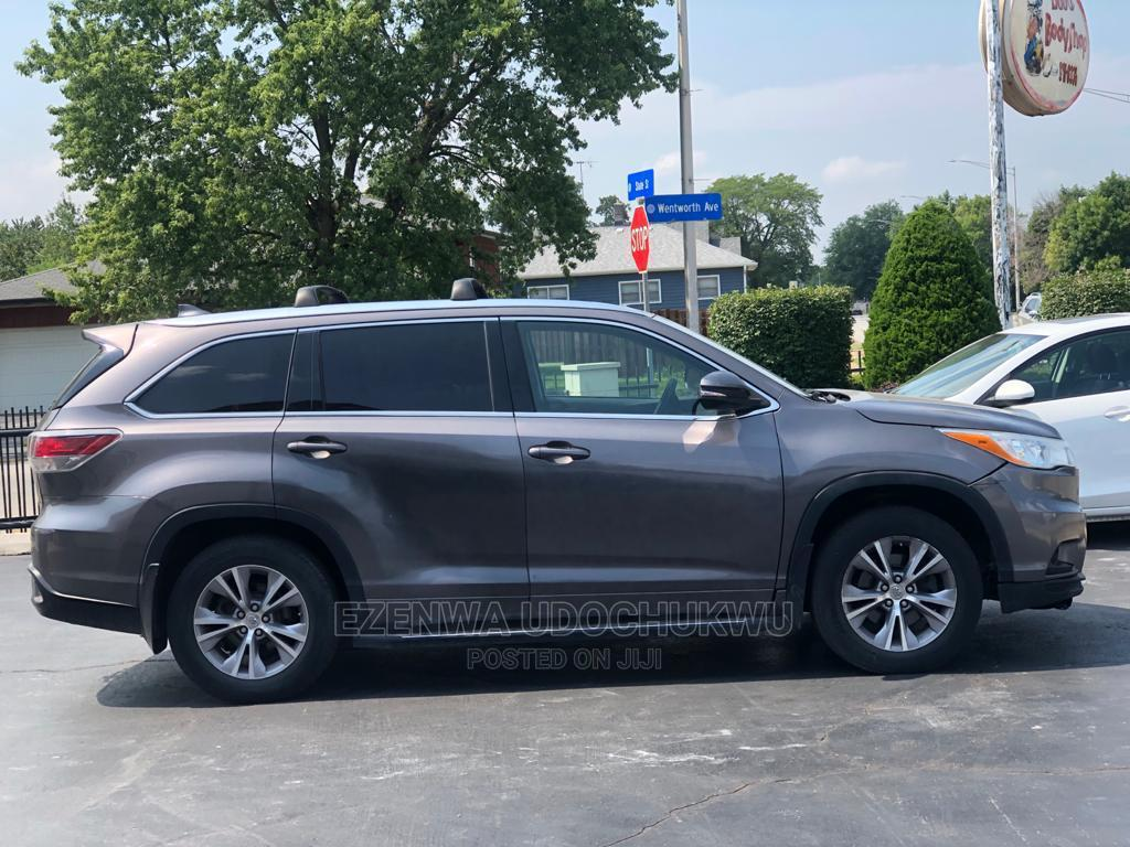 Toyota Highlander 2015 Gray   Cars for sale in Owerri, Imo State, Nigeria