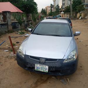 Honda Accord 2005 2.0 Comfort Automatic Silver | Cars for sale in Abuja (FCT) State, Nyanya