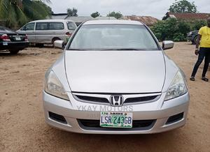 Honda Accord 2007 2.0 Comfort Automatic Silver | Cars for sale in Oyo State, Ibadan