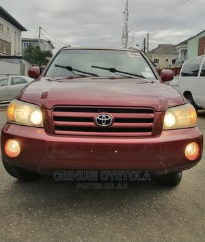 Toyota Highlander 2004 Base FWD Red   Cars for sale in Lagos State, Ikeja