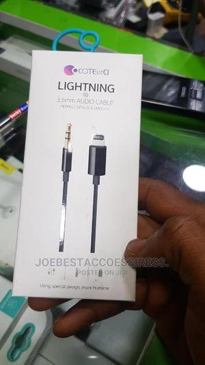 iPhone Lighting to Aux Cable | Accessories for Mobile Phones & Tablets for sale in Lagos State, Ikeja