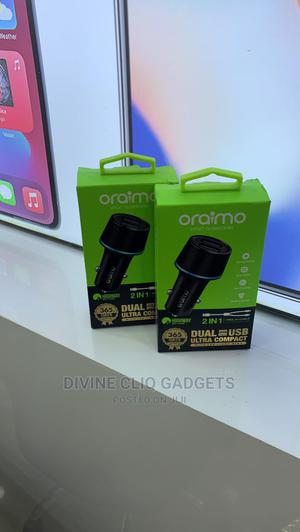 Original Car Charger (Oriamo) | Accessories for Mobile Phones & Tablets for sale in Rivers State, Port-Harcourt