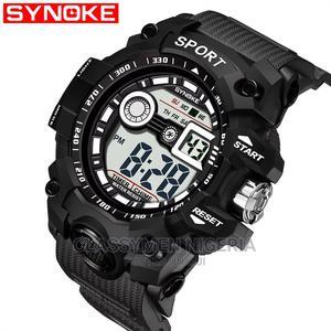 DIGITAL Waterproof Chronograph Alarm Backlit Calendar Watch | Watches for sale in Lagos State, Ejigbo