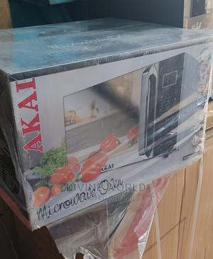 AKAI (30L) Microwave Grill Sofl Touch With Digital Display | Kitchen Appliances for sale in Lagos State, Ojo