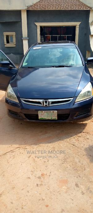 Honda Accord 2007 2.4 Exec Automatic Blue | Cars for sale in Delta State, Aniocha South